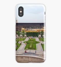 Panoramic view of  central square in Iasi city iPhone Case
