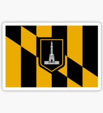 Flag of Baltimore Sticker