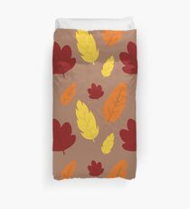 Larger Leaves Duvet Cover
