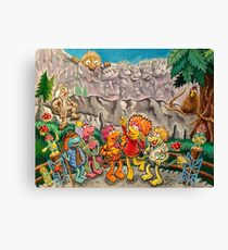Scenic lookout at Fraggle Rock Canvas Print