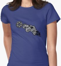 Car soccer Women's Fitted T-Shirt
