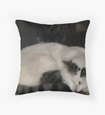 She`s behind you!!! Throw Pillow