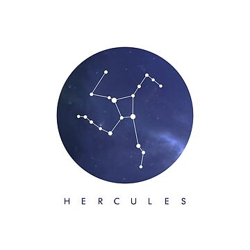 Hercules Constellation by cl0thespin