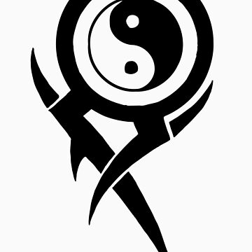 Ying Yang Tribal by graphicoracle