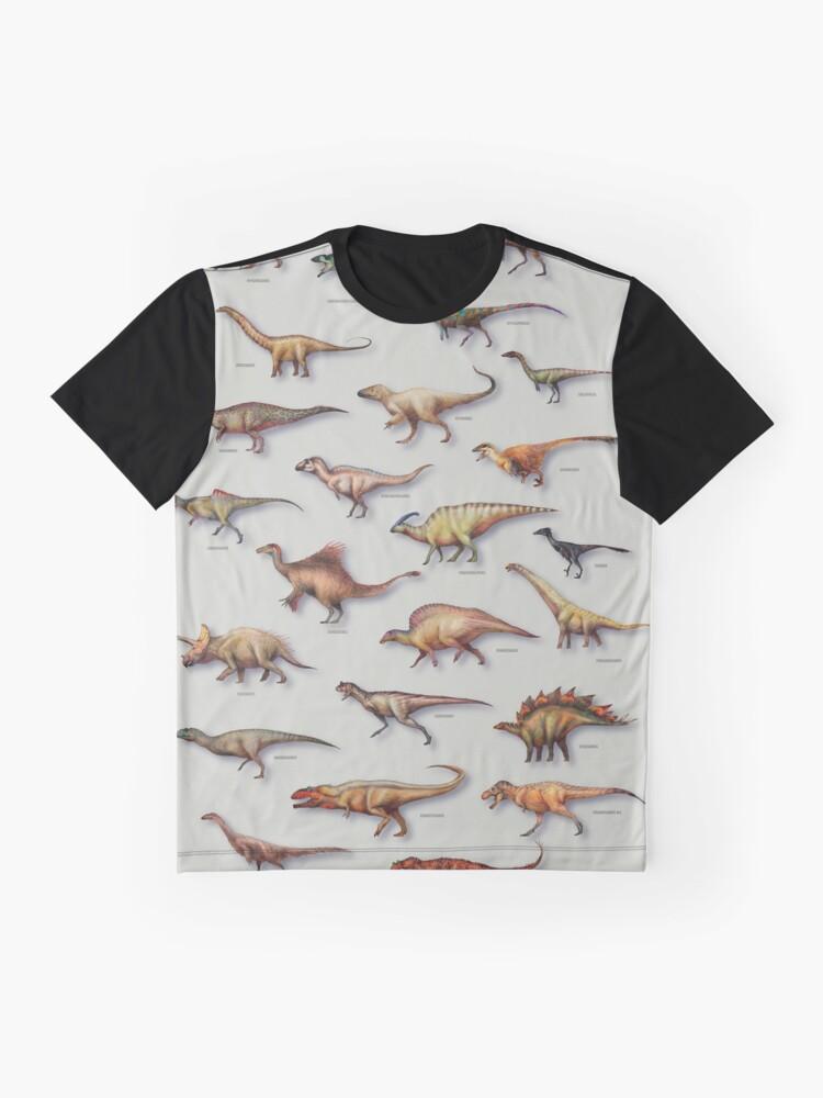 Alternative Ansicht von Dinosaurier-Schaukasten-PLAKAT 2016 Grafik T-Shirt