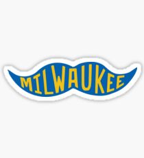 Milwaukee Stache Sticker