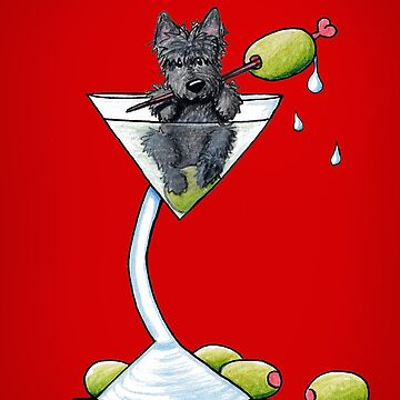 Scottish Martini by KiniArt