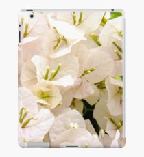 White Bougainvillea iPad Case/Skin