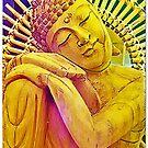 Rainbow Buddha by DesJardins