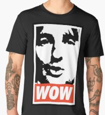 Wow. It's Owen Wilson. Wow. Men's Premium T-Shirt