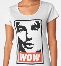 Wow. It's Owen Wilson. Wow. Women's Premium T-Shirt