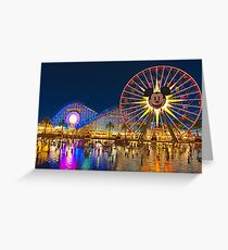 Nights On The Pier Greeting Card
