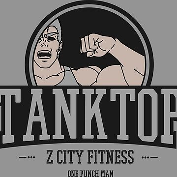 One Punch Man - Z City - TankTop Fitness by MountainFold