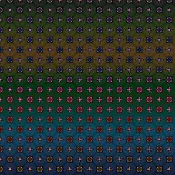 Geometric Abstract Pattern 9 by ADCreations