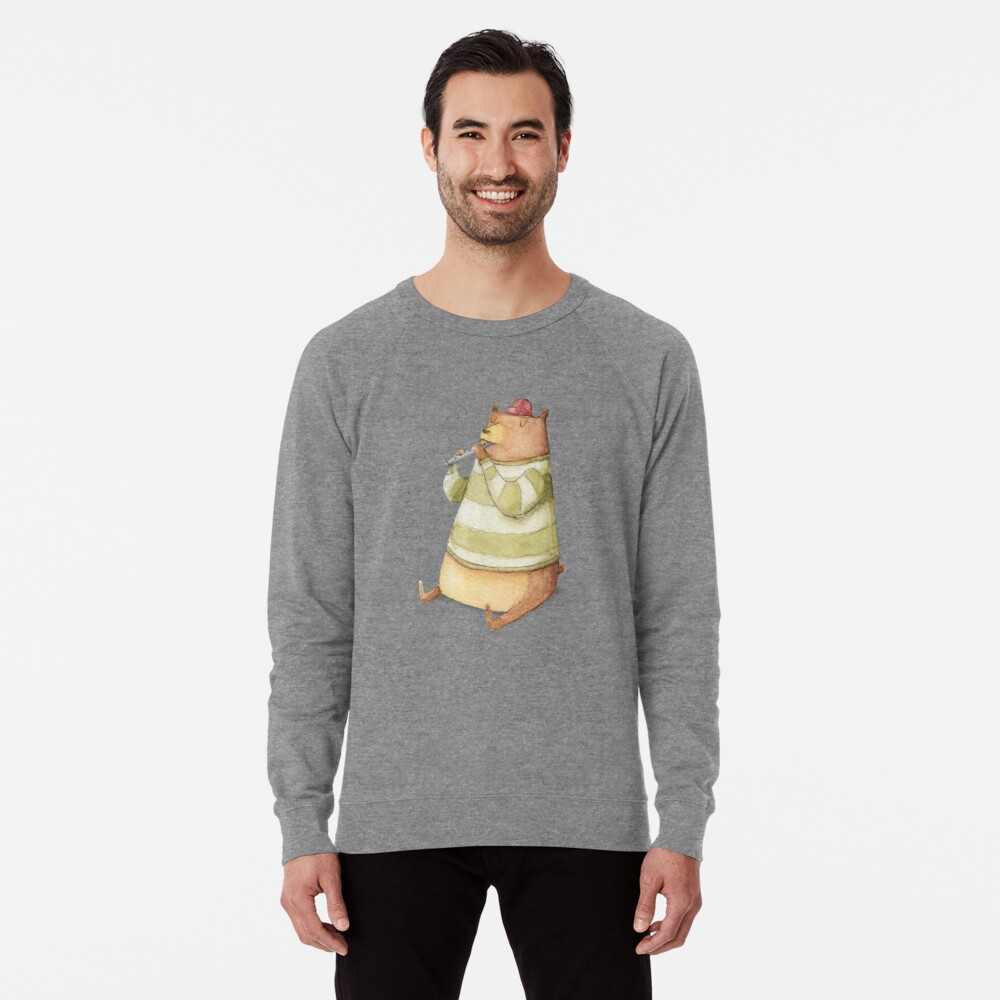Happy Bear Lightweight Sweatshirt