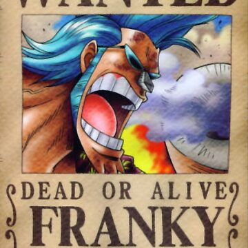 Franky Wanted Poster by KewlZidane