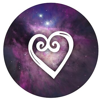COSMIC heart by juliacreates