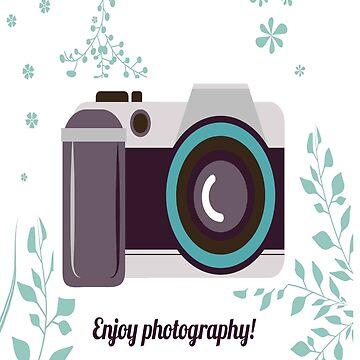 Enjoy Photography T-Shirt by salesramalho