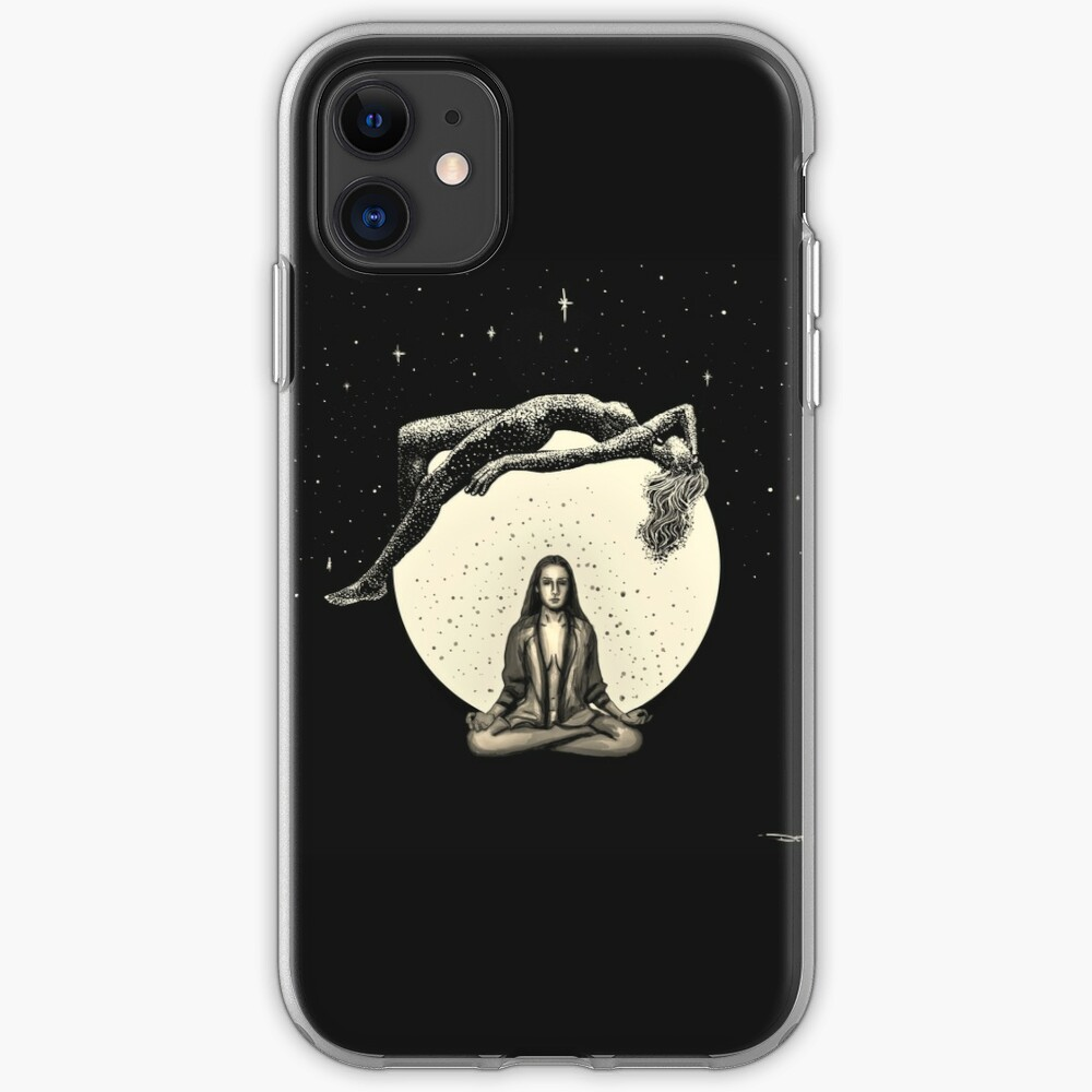Lunar Meditation iPhone Case & Cover