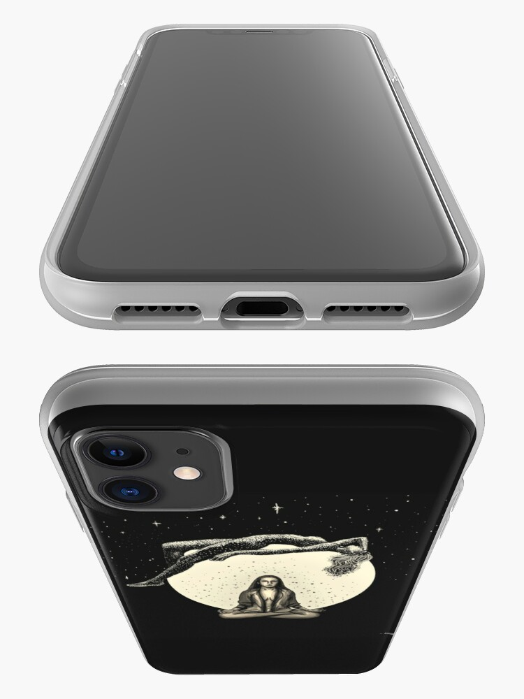 Alternate view of Lunar Meditation iPhone Case & Cover