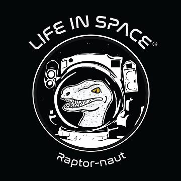 Life in Space: Raptor-naut by photonart