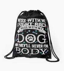 dog Drawstring Bag