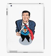 Vinilo o funda para iPad Super Hero Taking Off Suit