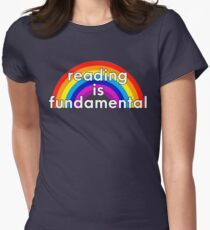 Reading is Fundamental Women's Fitted T-Shirt