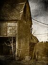 Collapsing Barn by Aaron Campbell