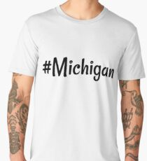 #Michigan Men's Premium T-Shirt