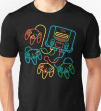 Super64 (4 Controller Version) Slim Fit T-Shirt