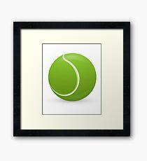 Tennis Ball Gerahmter Kunstdruck