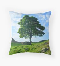 Hadrian's Wall: Sycamore Gap Throw Pillow