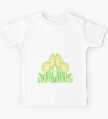 Showy Sunflowers Kids Clothes