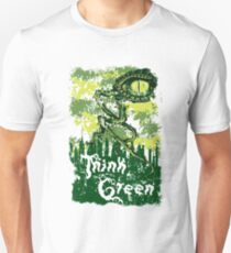 Camiseta ajustada Think Green