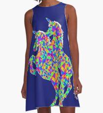 Psychedlic Unicorns A-Line Dress
