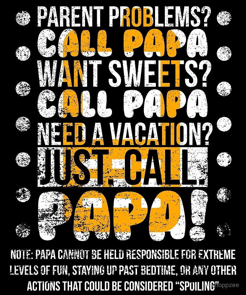 Grandpa Gifts Call Papa Papa The Man The Myth by shoppzee