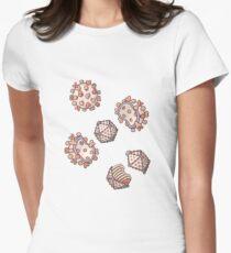 Viral Structure - Virus, Virology Illustration Women's Fitted T-Shirt
