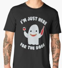 I'm Just Here For The Boos - Funny Halloween Boo Gift Spooky Halloween Gift Men's Premium T-Shirt
