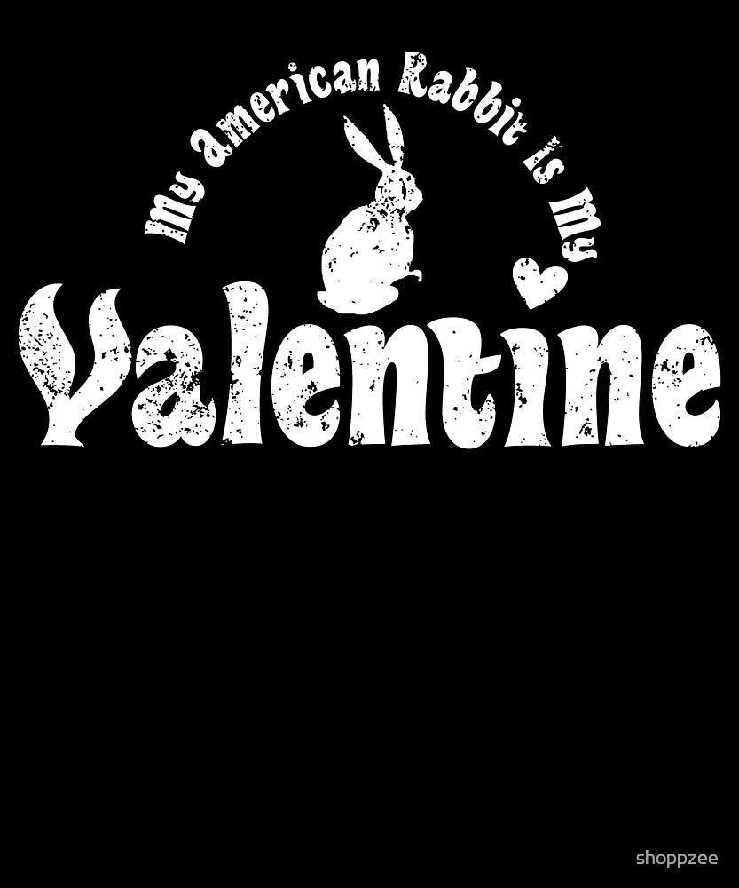 My Anti Valentine Pet American Rabbit by shoppzee