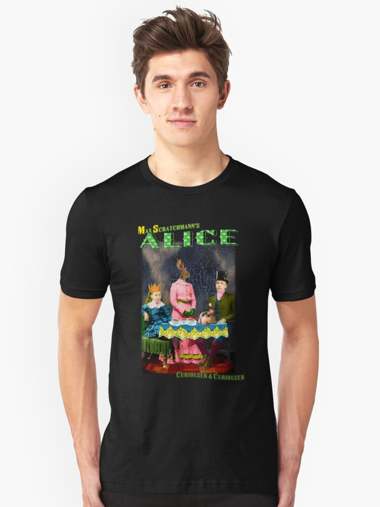Max Scratchmann's ALICE - The Mad Hatter's Tea Party Unisex T-Shirt Front