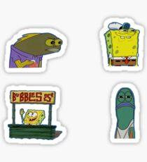 Sponge Stickers Sticker
