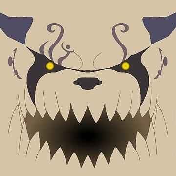Shukaku: One Tailed Beast by TheKalebFishStore