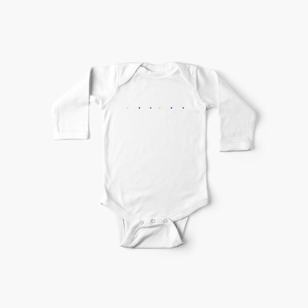U * N * F * U * N * N * Y (weiße Schriftversion) Baby Body