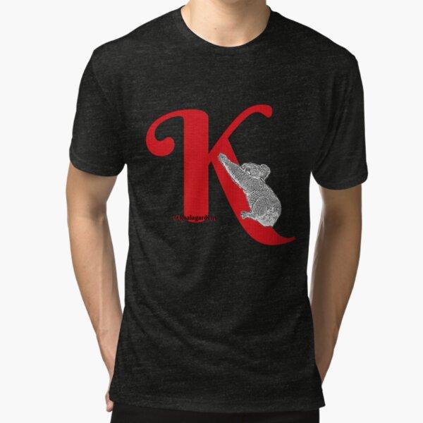 K is for KOALA Tri-blend T-Shirt