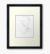 Abstract Concept Framed Print