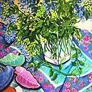 Leafy Still Life by marlene veronique holdsworth