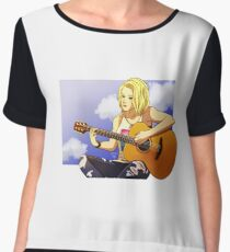 Clarke the Guitarist Chiffon Top