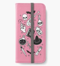 Witchy Essence Pink iPhone Wallet/Case/Skin