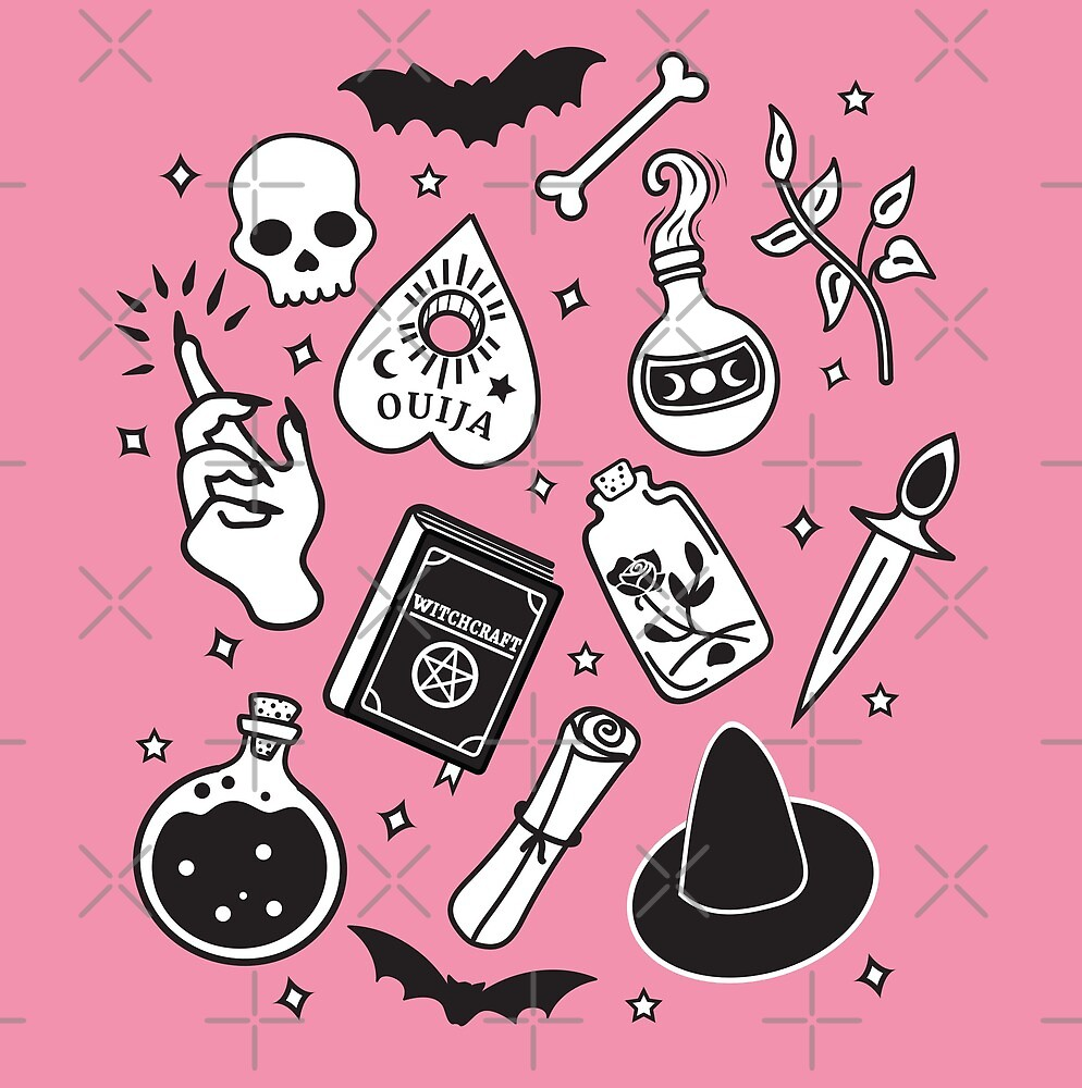 Witchy Essence Pink by Bonnabell .